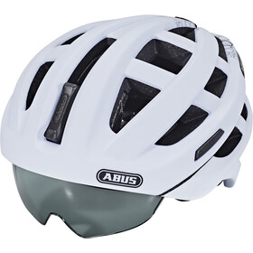 ABUS In-Vizz Ascent Cykelhjelm, polar matt